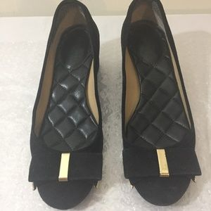 Michael Kors black shoes size 35 or 5, heel 2 inch